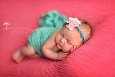 Isadora Tie back with Stretch Lace Wrap in Jade...newborn photography prop by LittleKeirasBows
