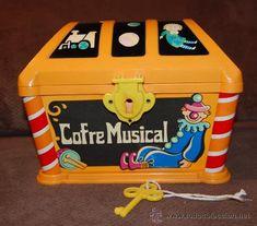 COFRE MUSICAL GEYPER. TOYBOX. AÑOS 70