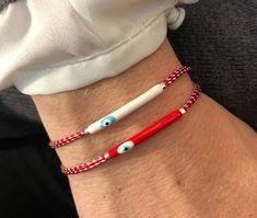 Delicate, March, Beaded Bracelets, Handmade, Jewelry, Fashion, Venezuela, Moda, Hand Made