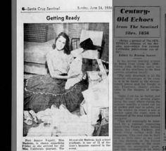 Photo Of Nancy Pelosi Posing As Miss Lube Rack 1955