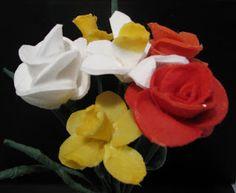 Pomysły plastyczne dla każdego DiY - Joanna Wajdenfeld: Kwiatki dla mamy