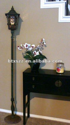 Another indoor lamp post option  Interior ideas  Pinterest