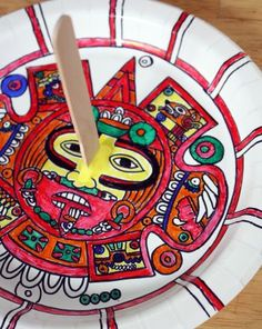 Activities: Make an Aztec Sundial