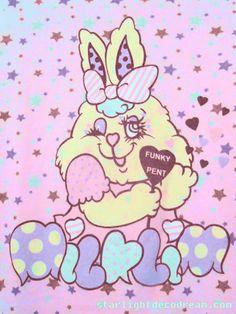 milklim funky pent illustration
