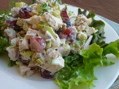 Awesome Chicken Salad Recipe that's light on the mayo and heavy on healthy goodness  - Good Dinner Mom