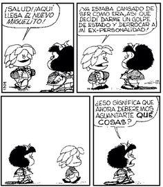 Miguelito y Mafalda