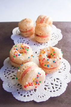 Doughnut macarons  from Raspberri Cupcakes