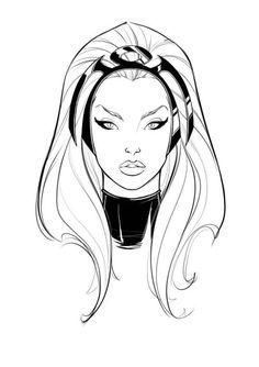 Storm by Javi Garcia Comic Book Characters, Marvel Characters, Comic Character, Comic Books Art, Comic Art, Character Design, Marvel Girls, Marvel Art, Marvel Heroes