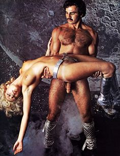 Paul Barresi and Cassandra Peterson, Playgirl, March 1974.