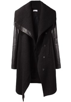 God, so much coveting. Like. Covet galore. I love these dramatic car coat types.