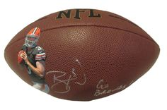 Cleveland Browns Brandon Weeden signed NFL Wilson full size football w/ proof photo.  Proof photo of Brandon signing will be included with your purchase along with a COA issued from Southwestconnection-Memorabilia, guaranteeing the item to pass authentication services from PSA/DNA or JSA. Free USPS shipping. www.AutographedwithProof.com is your one stop for autographed collectibles from Cleveland sports teams. Check back with us often, as we are always obtaining new items.