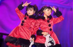 Yui-metal and Moa-metal duo