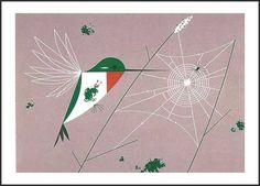 Ruby-Throated Hummingbird Notecards