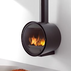 Rocal D7 Wall Mounted Wood Burning Stove                                                                                                                                                                                 More