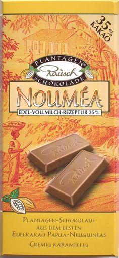 """Rausch Milchschokolade """"Nouméa"""""""