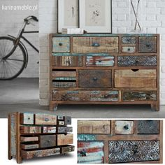 Eclectic Furniture, Kitchen Design, Dresser, Sweet Home, Antiques, Inspiration, Home Decor, Antiquities, Biblical Inspiration