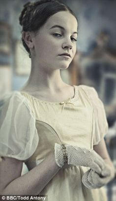 Young Estella in the BBC version of 'Great Expectations'