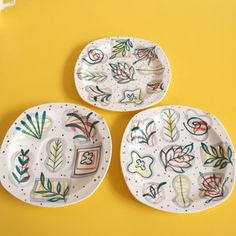 Sunny vintage-y design from Jessie Tait for Midwinter as seen on Winter's Moon
