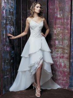 Robe de mariée courte devant : Desmestrios