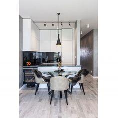 Návšteva minimalistického bytu v novostavbe na Kolibe   DOMA.SK Conference Room, Dining Table, Furniture, Home Decor, Decoration Home, Room Decor, Dinner Table, Home Furnishings, Dining Room Table