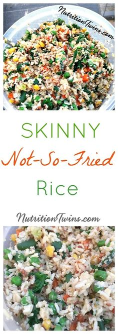 "Skinny ""Fried"" Rice 