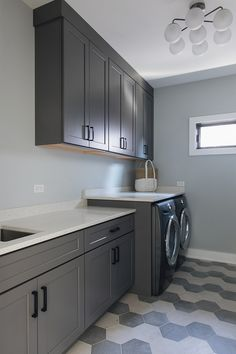 Sherwin Williams Acier Grey Cabinet Paint Color Is Sherwin