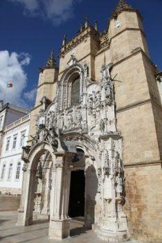 Santa Cruz Monastery (Igreja de Santa Cruz) in Coimbra Portugal enjoy portugal holidays