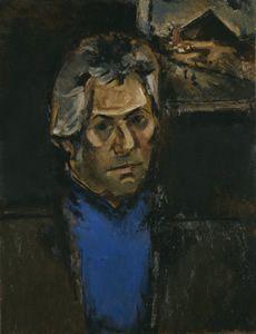 Dannie Abse (Cardiff, 22 september 1923) Portret door Josef Herman, rond 1973