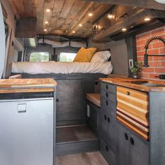 Camper vans are getting more and more popular. And it's not a surprise why. Having a camper van you are able to travel more often and spontaneous because you don't … Ford Transit Conversion, Van Conversion Interior, Camper Van Conversion Diy, Motorhome, Self Build Campervan, Ducato Camper, Kombi Home, Van Home, Campervan Interior