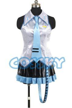 Vocaloid 2 Hatsune Miku Cosplay Costume от cossky на Etsy