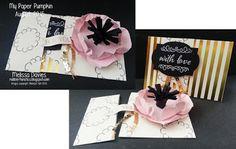 My Paper Pumpkin August kit -  by Melissa Davies @rubberfunatics #stampinup #rubberfunatics #paperpumpkin