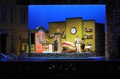 Little Shop of Horrors. Mount Baker Theatre Rep. Set design by Jason Coale. 2014