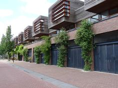 Housing Borneo Sporenburg Neutelings Riedijk architects, 1997 Amsterdam, Netherlands