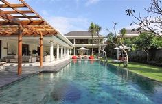 Bali Dea villa estate containing 5 individual villa accommodations with a total of 16 bedrooms, ideal for groups or large family holidays in Bali.