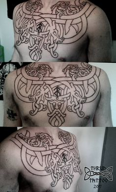 Eric Gaudin de Lagrange‎ Aa Tattoos, Wicked Tattoos, Celtic Tattoos, Great Tattoos, Body Art Tattoos, Tribal Tattoos, Dark Art Tattoo, Tattoo Ink, Tattoo Maori