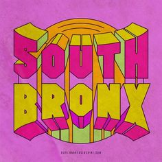 Best Bronx Type South Southbronx Oldschool images on Designspiration Typography Letters, Typography Poster, Graphic Design Typography, Lettering Design, Branding Design, Logo Design, Logo Branding, Type Design, Design Art