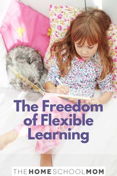 """One of the most valuable benefits of homeschooling is flexibility. Many families tell us that this flexibility is the reason they are able to """"live their learning"""" in a way that just wouldn't happen if they were enrolled in traditional school. #homeschool #thehomeschoolmom Interactive Learning, Learning Activities, Benefits Of Homeschooling, Learning To Relax, Kids Up, Learning Styles, The Freedom, Learning Environments, Travel With Kids"""