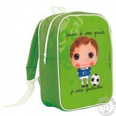 Grand sac à dos footballeur - Quand je serai grand
