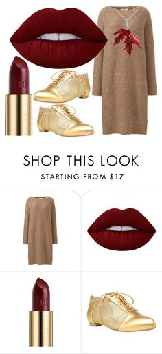 """""""Fall"""" by annakueenzi ❤ liked on Polyvore featuring beauty, Uniqlo, Lime Crime, Urban Decay and Alepel"""