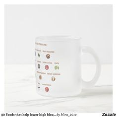 30 Foods that help lower high blood pressure Frosted Glass Coffee Mug Personalized Chocolate, Hibiscus Tea, Glass Coffee Mugs, Get Well Gifts, Lower Blood Pressure, Blood Vessels, Frosted Glass, Health And Nutrition, Foods