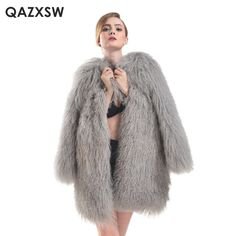 >> Click to Buy << Large Size M-5XL Winter 2017 New Real Mongolia Sheep Fur Jacket Women Genuine Lamb Fur Coat Luxury Beach Coat and Jacket LH341 #Affiliate