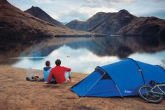 Kiwis love camping in the great outdoors
