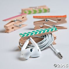 These could be easy to make #DIY and used for headphone storage or charge cable storage. Yes!
