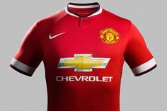 Nike launch Manchester United Home Kit To Kick Off The Van Gaal Reign. Camisa Del Manchester United, Manchester United Home Kit, Manchester United Football, Premier League Teams, Make My Day, Soccer Gear, Soccer Stuff, Soccer Jerseys, Soccer Cleats