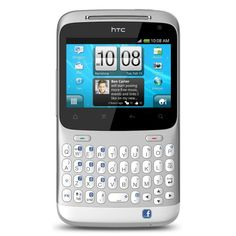 HTC Status ChaCha A810a Unlocked Phone with QWERTY Keyboard, 5MP Camera, Wi-Fi and GPS - US Warranty - Silver - The HTC Status weighs 4.32 ounces and measures 4.49 x 2.49 x 0.42 inches. Its 1250 mAh lithium-ion battery is rated at up to 6.5 hours of talk time, and up to 640 hours (26.6 days) of standby time. It runs on the 850/900/1800/1900 MHz GSM/GPRS/EDGE frequencies as well as AT's dual-band 3G network (850/1900 MHz; HSDPA/UMTS). - http://g...