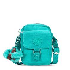 Mini bolsa Teddy turquesa Cool Turquoise Kipling