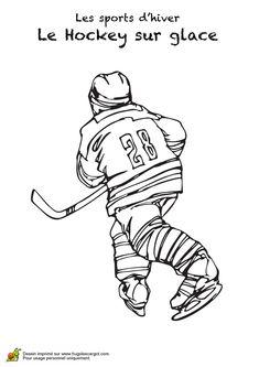Les 17 meilleures images de coloriage hockey printable coloring pages coloring pages et - Dessin de hockey ...