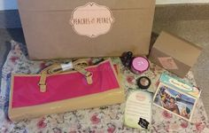 Peaches and Petals October box contents and review