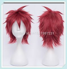 Find More Wigs Information about Free shipping !!!Gaara/Akashi Seijuro/Marui Bunta Short Wine Red Cosplay Wig,High Quality wig base,China wig bandana Suppliers, Cheap wig blue from Dream Wig on Aliexpress.com