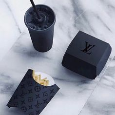 Louis Vuitton fan Page ( Boujee Aesthetic, Bad Girl Aesthetic, Style Noir, Black Food, Black And White Aesthetic, Black Aesthetic Fashion, Aesthetic Yellow, All Black Everything, Shades Of Black